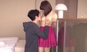 ムータン動画/ イケメン彼氏が彼女の火照った汗ばんだ身体を舐めまわしイチャイチャしながら絡み合うラブラブSEX♡ S-Cute Pornhub 彩城ゆりな