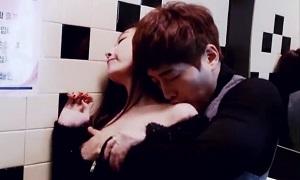 韓国イケメン/ マッチョイケメンが発情してクラブのトイレで他の客に見つかりながらも美女とSEX! Pornhub