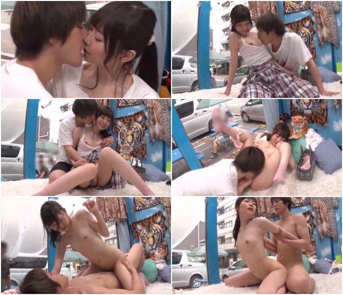 ゆうき/マジックミラー号/ 「メッチャ焦らすやん!はよ入れて♡」アイドル級に可愛い大阪芸人さんがイケメンと本気キス♡Hの最中イケメンをずっと見つめて惚れちゃいイッちゃう女の子♡