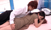 平田つかさ/マッサージ イケメンマッサージ師にデレデレのモニター女子を騙して性感マッサージ!耳元でささやかれ目を潤わせイキまくって抱き着きディープキスをしまくる女の子 /JavyNow(51分)