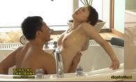 黒田悠斗 スタイル抜群美女がマッチョエロメンから言葉責めと凄技テクでバスルームで声を響かせなから何度もイキまくる大人のラブラブエッチ /JavyNow(47分)